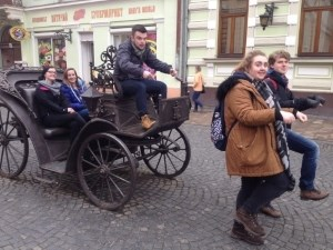 Ukraine 'horse ' & Carriage
