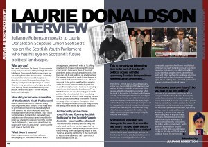 Laurie Donaldson Broadcast Interview Issue 6